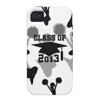 2013 Cheerleader graduation Vibe iPhone 4 Cases