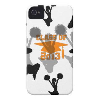 2013 Cheerleader graduation Orange Case-Mate iPhone 4 Case