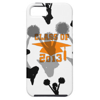 2013 Cheerleader graduation Orange iPhone 5 Cases