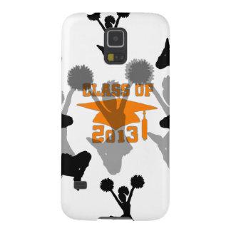 2013 Cheerleader graduation Orange Galaxy Nexus Case