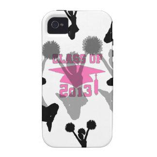 2013 Cheerleader graduation Pink Vibe iPhone 4 Cases