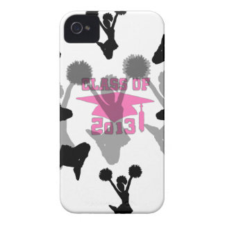 2013 Cheerleader graduation Pink iPhone 4 Case