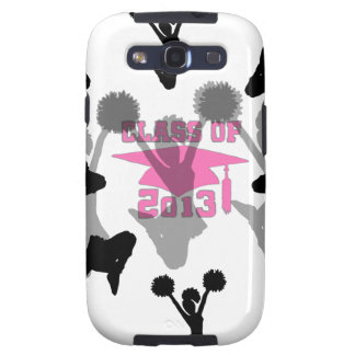 2013 Cheerleader graduation Pink Samsung Galaxy S3 Cover