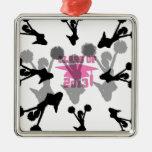 2013 Cheerleader graduation Pink Christmas Ornament