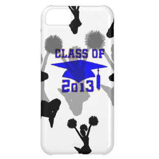 2013 Cheerleader light blue gold iPhone 5C Covers