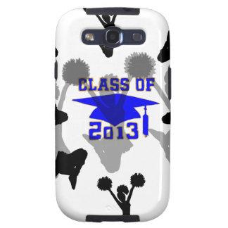 2013 Cheerleader light blue gold Galaxy S3 Case