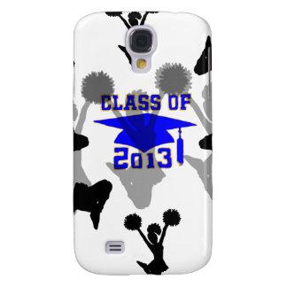 2013 Cheerleader light blue gold HTC Vivid / Raider 4G Case