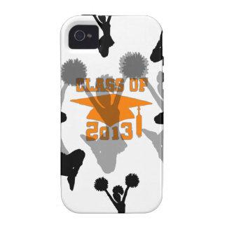 2013 Cheerleader Orange Gray iPhone 4 Cover