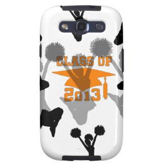 2013 Cheerleader Orange Gray Samsung Galaxy SIII Cover