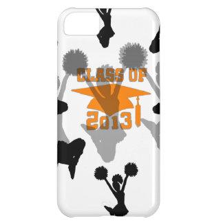 2013 Cheerleader Orange Gray iPhone 5C Covers