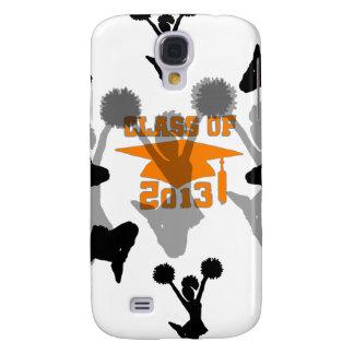 2013 Cheerleader Orange Gray HTC Vivid Covers