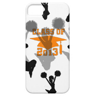 2013 Cheerleader Orange Gray iPhone 5 Covers