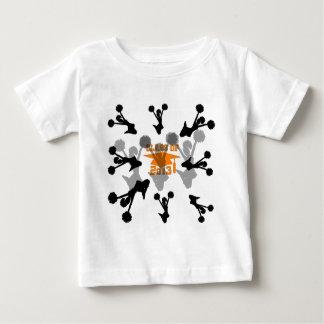 2013 Cheerleader Orange Gray Shirt