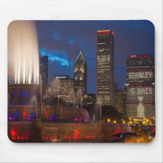 2013 Chicago Blackhawks Skyline Mouse Pad