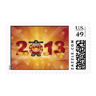 2013 Chinese Money God Postage