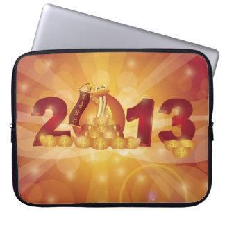 2013 Chinese New Year Snake Electronics Bag Laptop Computer Sleeve