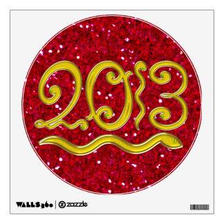 2013 - Chinese New Year - SRF Room Sticker