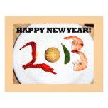 2013 chinos asiáticos de la Feliz Año Nuevo Membrete Personalizado
