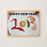 2013 chinos asiáticos de la Feliz Año Nuevo Puzzles