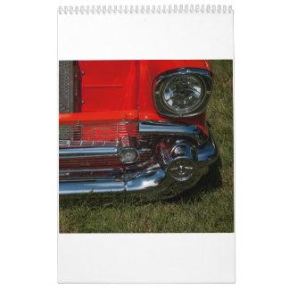 2013 Classic Car Calendar