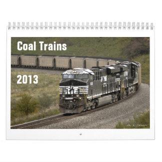 2013 Coal Train Calendar