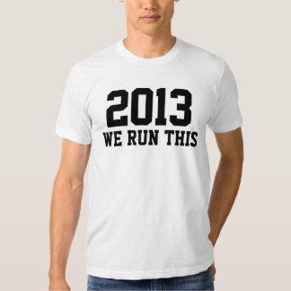 2013 corremos esto como un suéter de la clase del