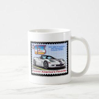 2013 Corvette 60th Anniversary Convertible Coffee Mugs