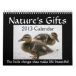 2013 Cute Animals Calendar