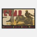2013 CZAR Sticker