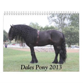 2013 Dales Pony calendar