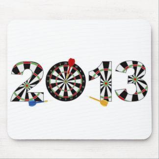 2013 Dartboard and Darts Mousepad