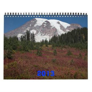 2013 del este de la naturaleza y del oeste calendarios