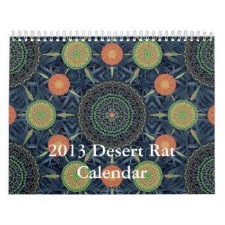2013 Desert Rat Calendar
