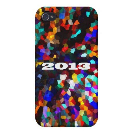 2013 deslumbre celebran la caja del teléfono iPhone 4 carcasa