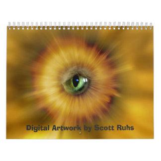 2013 Digital Artwork Calendar