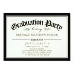 2013 Diploma Graduation Party Invitation Cards