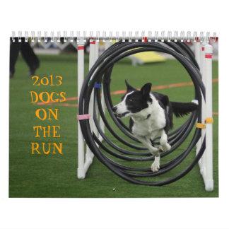2013 Dogs on the Run Wall Calendars
