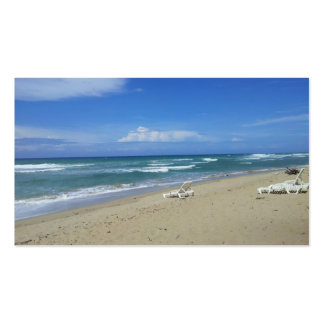 2013 DOMINICAN REPUBLIC HIDEAWAY BEACH PHOTOGRAPHY BUSINESS CARD