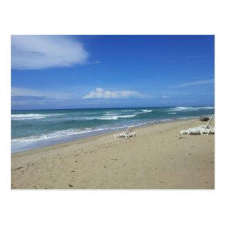 2013 DOMINICAN REPUBLIC HIDEAWAY BEACH PHOTOGRAPHY POSTCARD