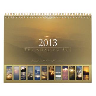 2013 - El calendario asombroso de Sun