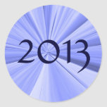 2013 Envelope Seal Round Stickers