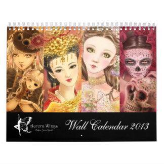 2013 Fantasy Calendar - Art by Mitzi Sato-Wiuff