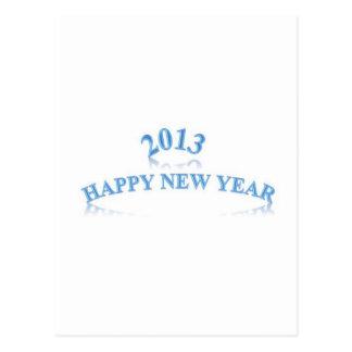 2013 FELICES AÑO NUEVO TARJETA POSTAL