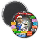 2013 felices impuestos imán de frigorifico