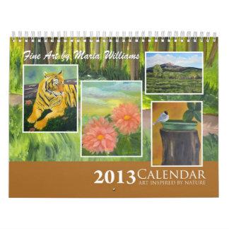 2013 Fine Art by Maria Williams Calendar