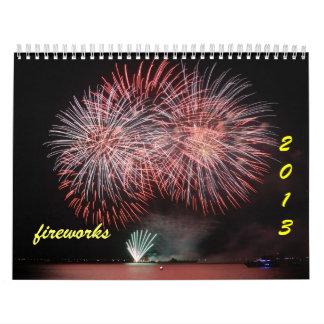 2013 fireworks calendar - 2