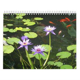 2013 floral de Scott S Jones Calendario