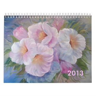 2013 FLORALS  Calendar