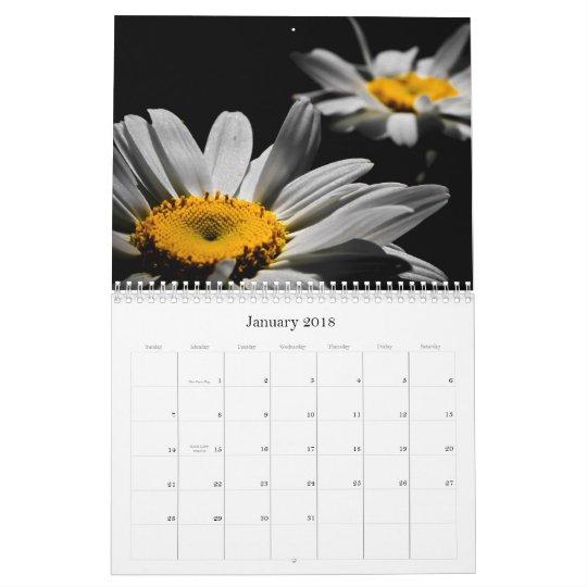 2013 Flower Calendar