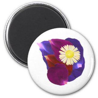 2013 Flower Show :  Rose Petal Art Magnet